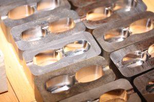 Matriceindsatse til kapselværktøj